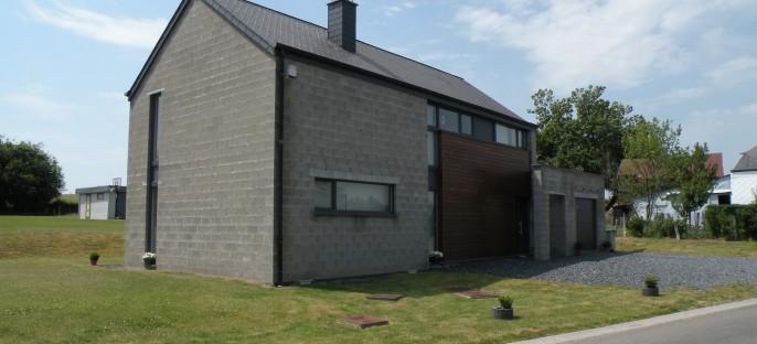 Maison contemporaine à Wittimont