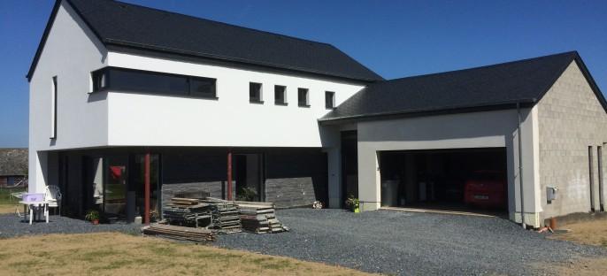 Maison basse énergie à Witry